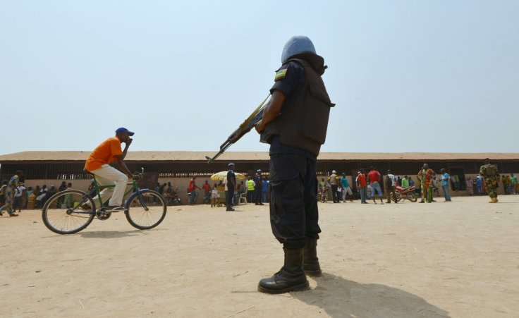 Peacekeepers in Central African Republic