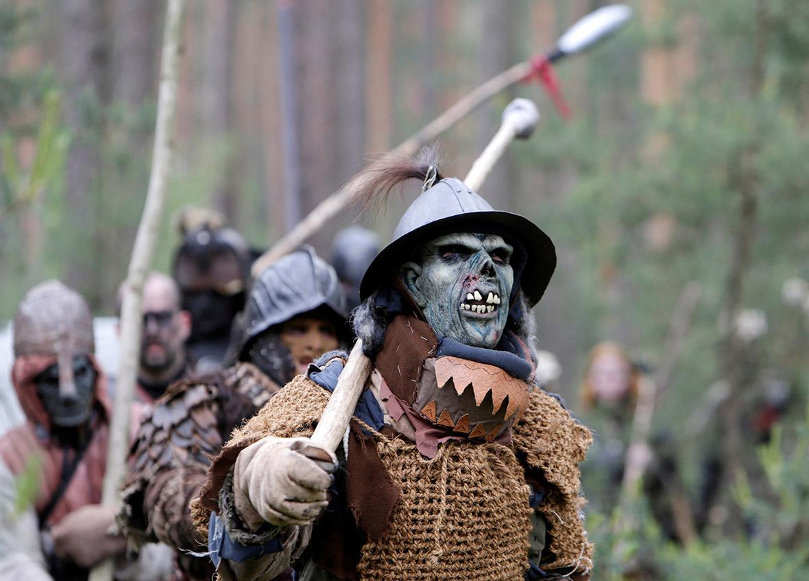Hobbit LARP Czech