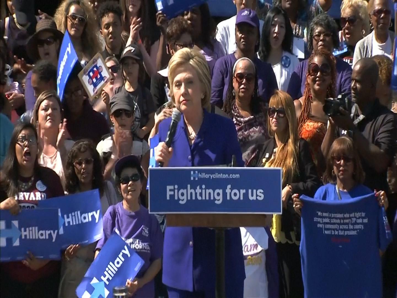 Hillary Clinton has enough delegates