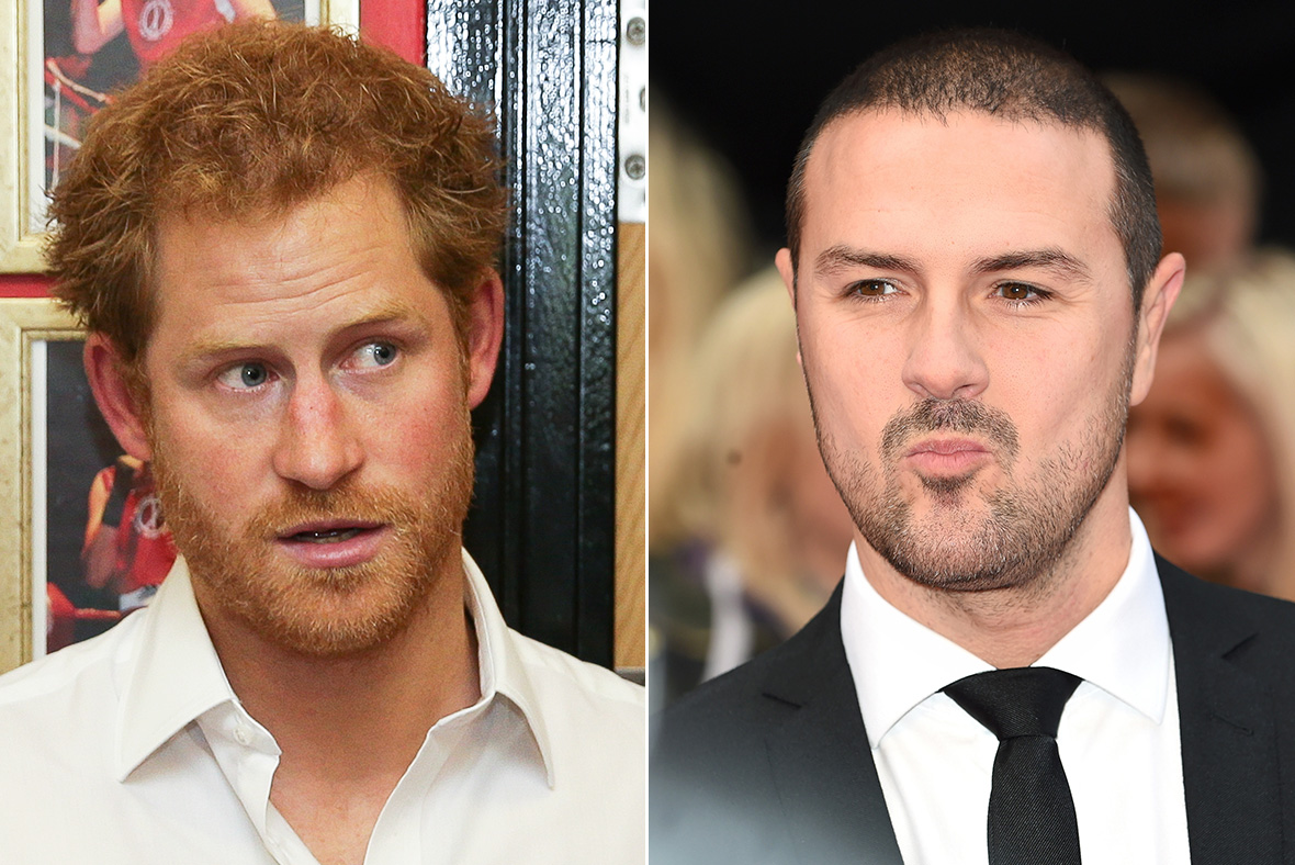 Prince Harry, Paddy McGuinness