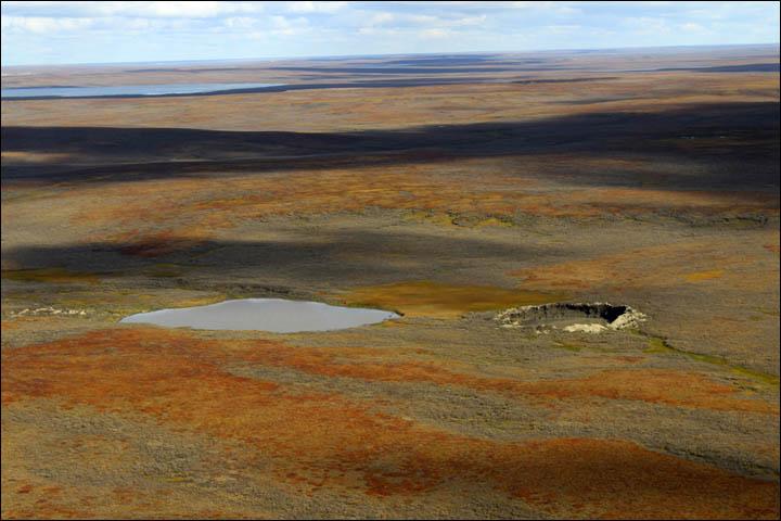 Siberian crater