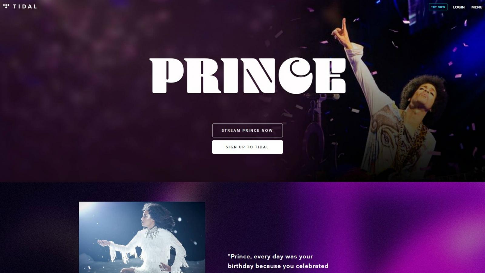 Prince Tidal