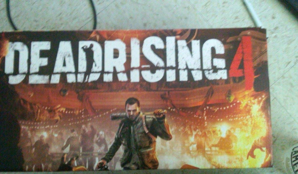 Dead Rising 4 leaked poster