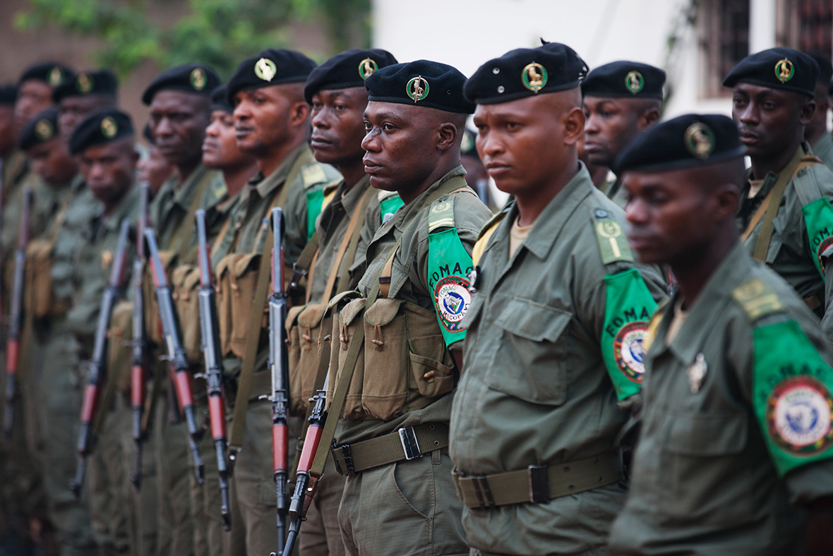 Congolese peacekeepers