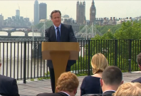 David Cameron claims he is not worried about losing EU referendum