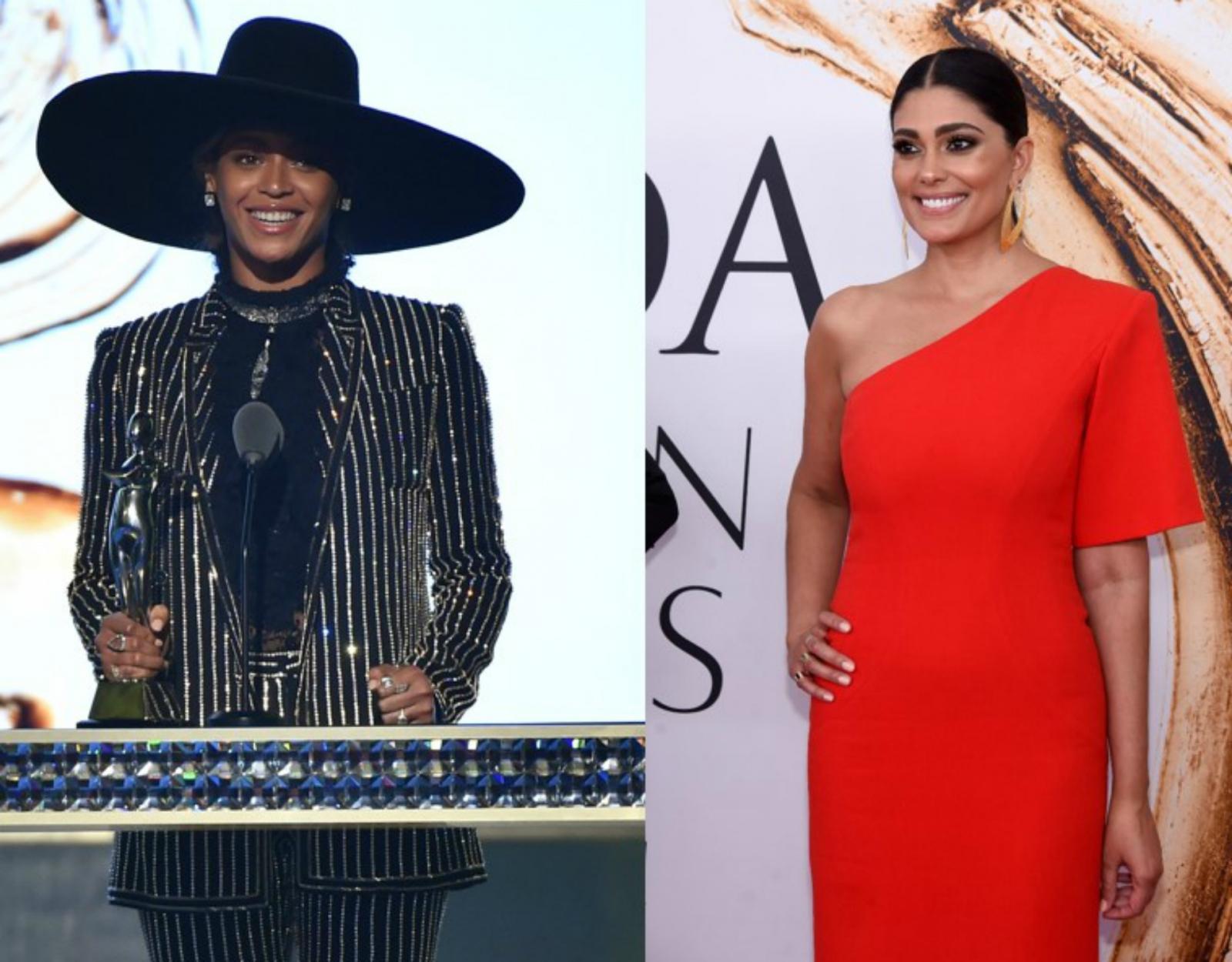 Beyonce and Rachel Roy