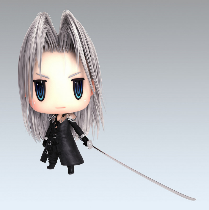 World of Final Fantasy Sephiroth