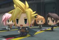 World of Final Fantasy Cloud Lightning Squall