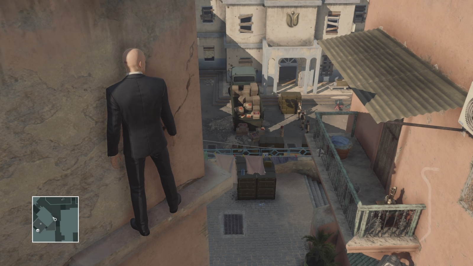Hitman Marrakesh Silent Assassin Suit Only base