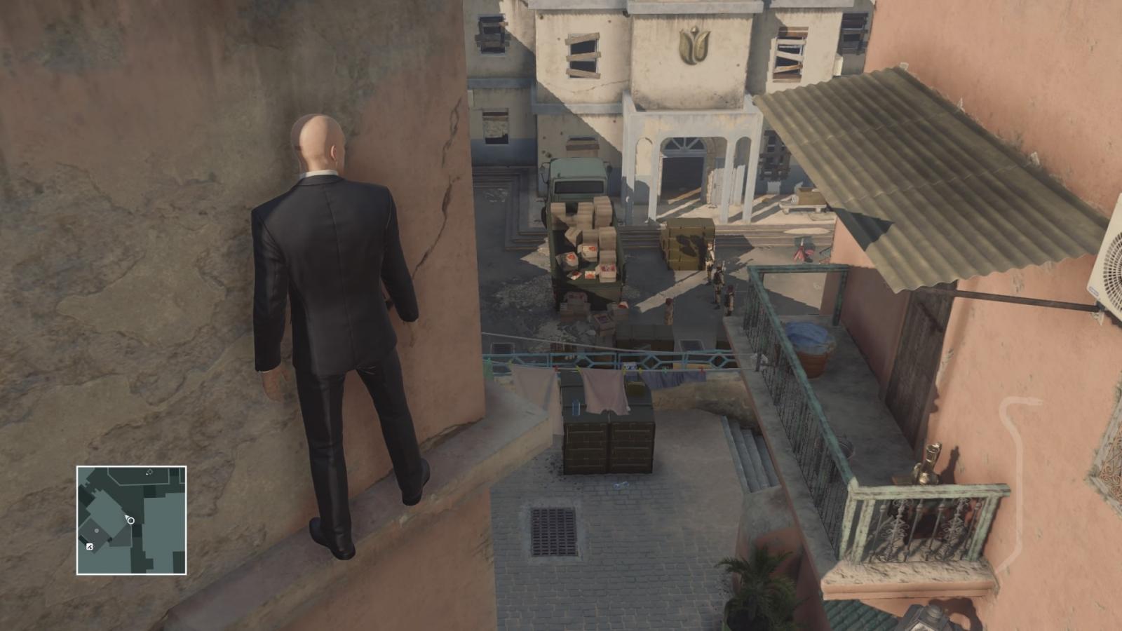 Hitman Marrakesh Silent Assassin Suit Only base