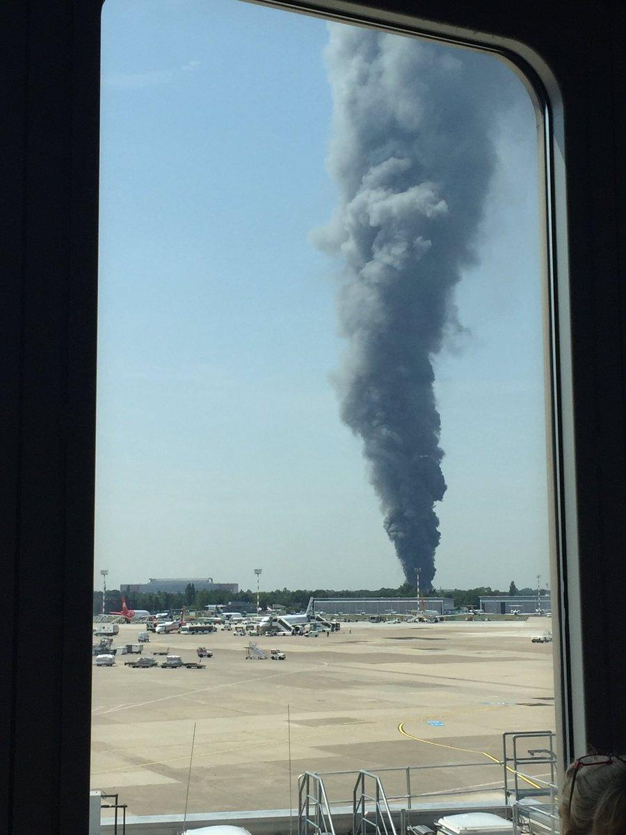 Dusseldorf blaze