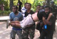 Police shooting Papua New Guinea