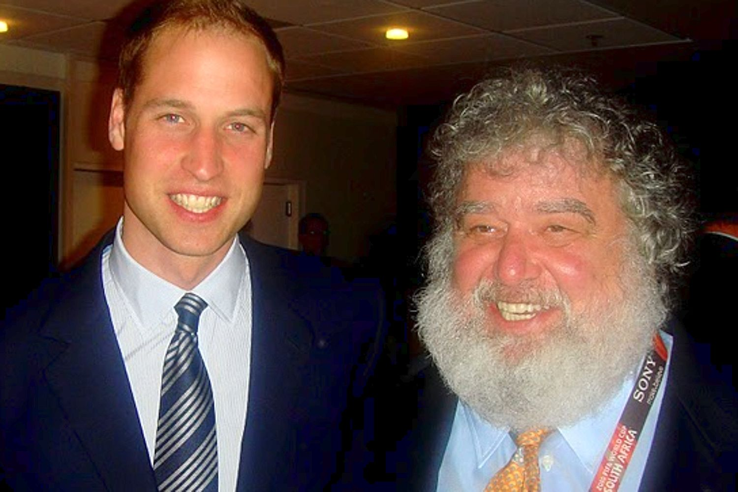 chuck blazer prince william