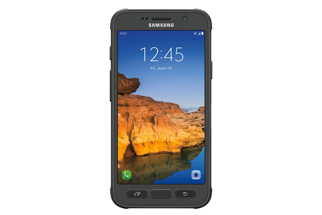 Samsung Galaxy S7 Active in black