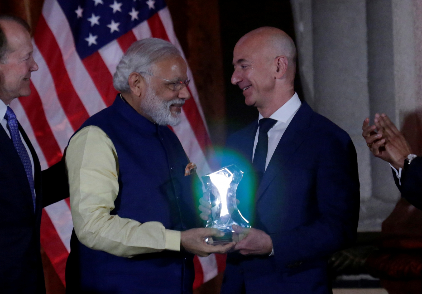 Amazon India Jeff Bezos Narendra Modi