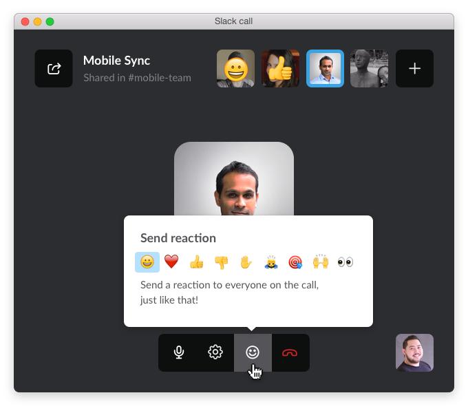 Slack emoji response