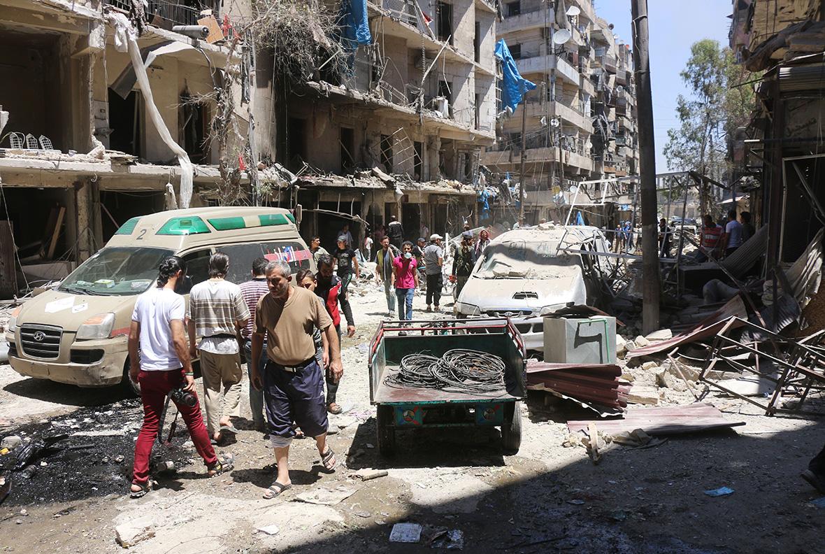 Aleppo airstrikes