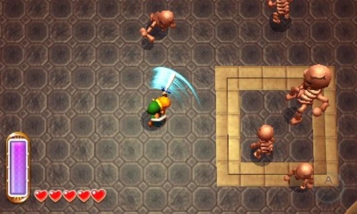 Legend of Zelda Link Between Worlds