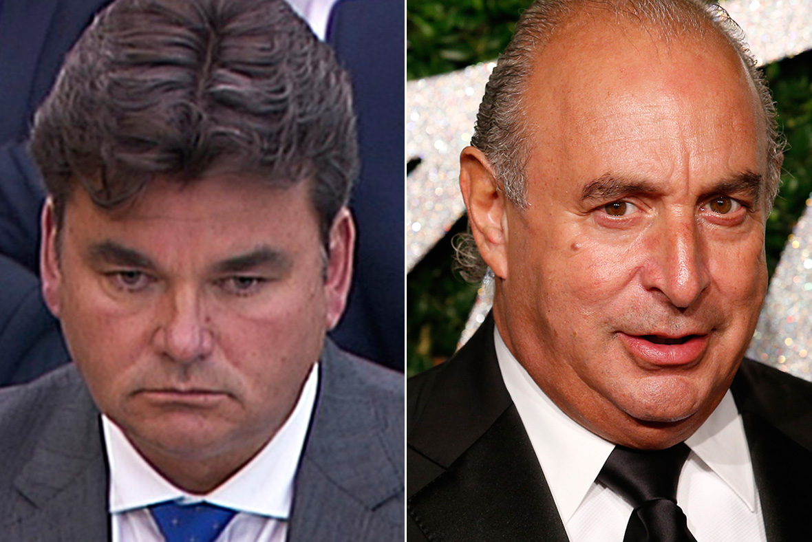 Dominic Chappell, Philip Green