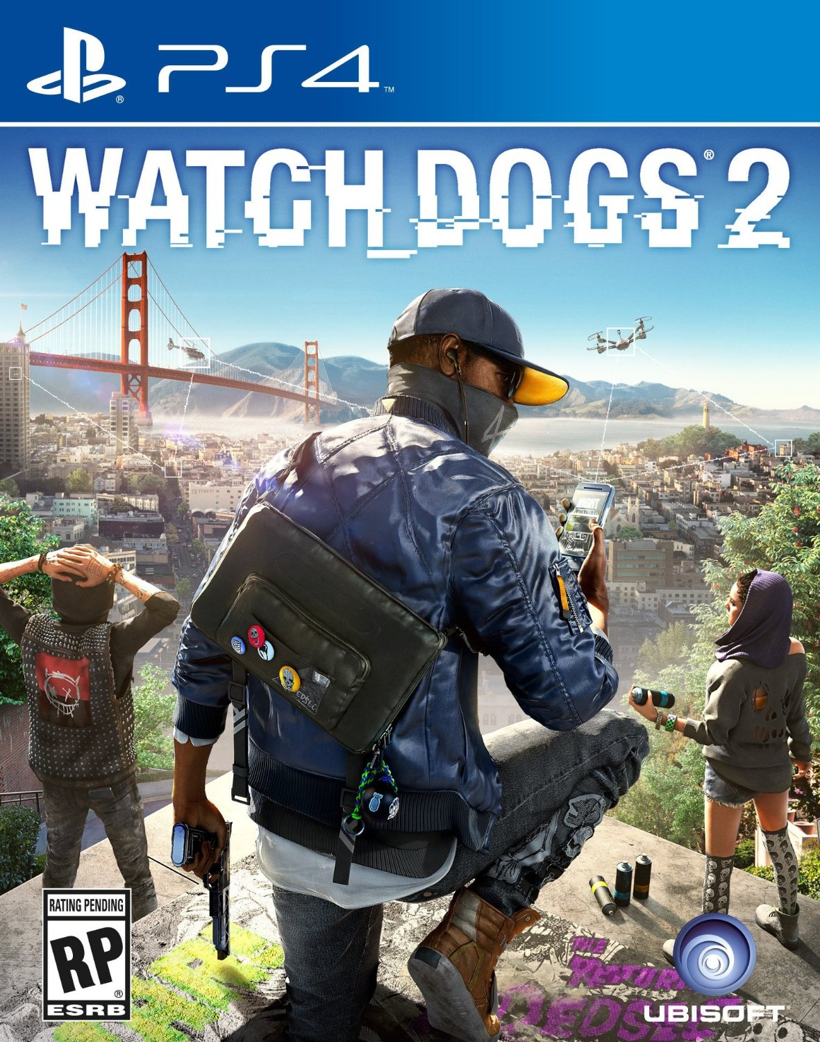 Watch Dogs 2 officially announced for Xbox One, PS4 and PC ... Watch Dogs Ps4 Box Art