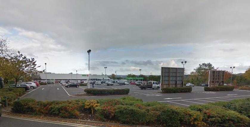 Wolstanton Retail Park child neglect car