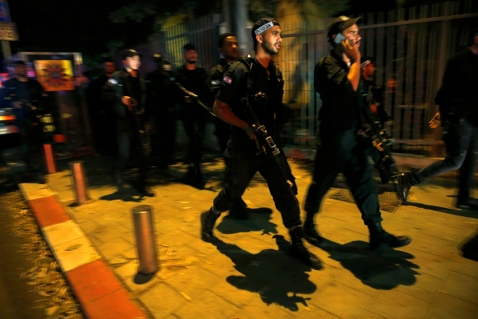 Israel Tel Aviv shooting