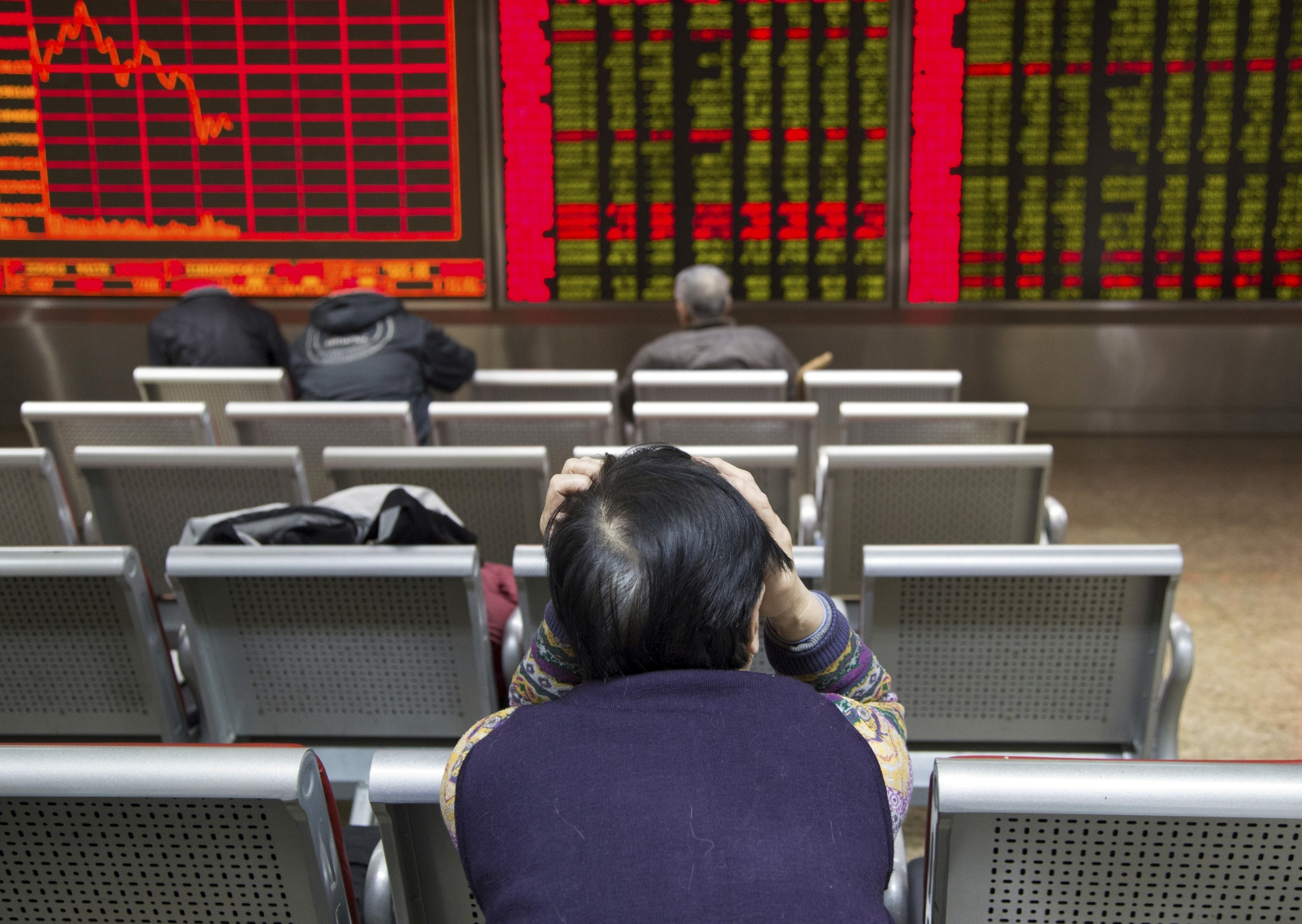 Asian markets trade lower amid concerns over US economy and the outcome of UK referendum and other political events