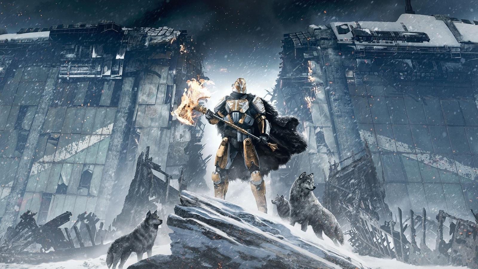 Destiny Rise of Iron Artwork DLC