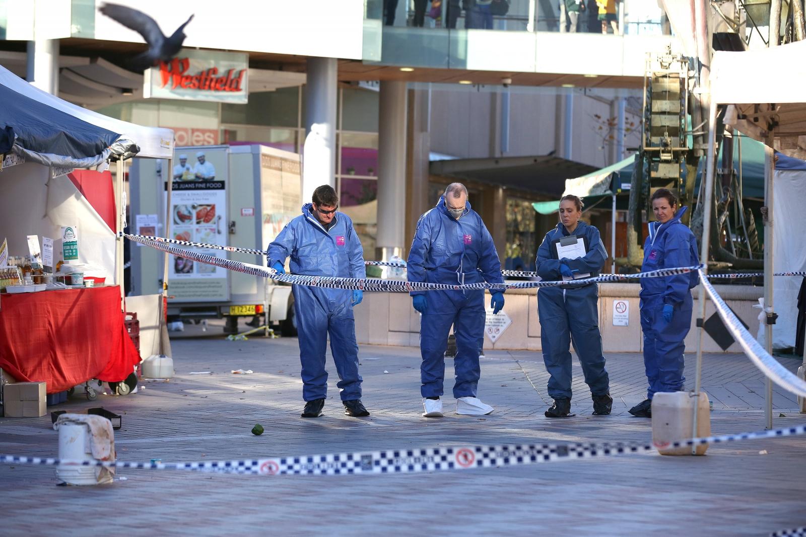 Sydney police firing