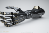 Deus Ex prosthetic arm