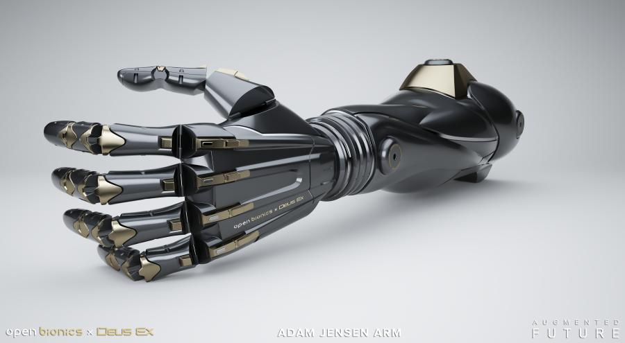 Deus Ex prosthetic arm