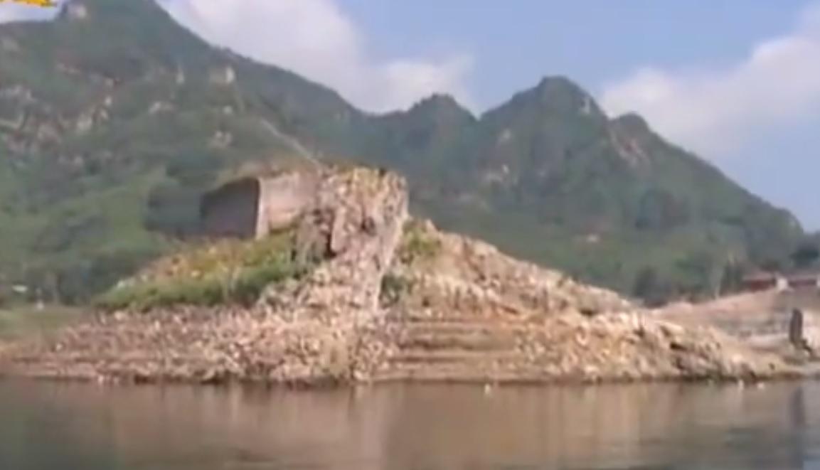 underwater great wall china