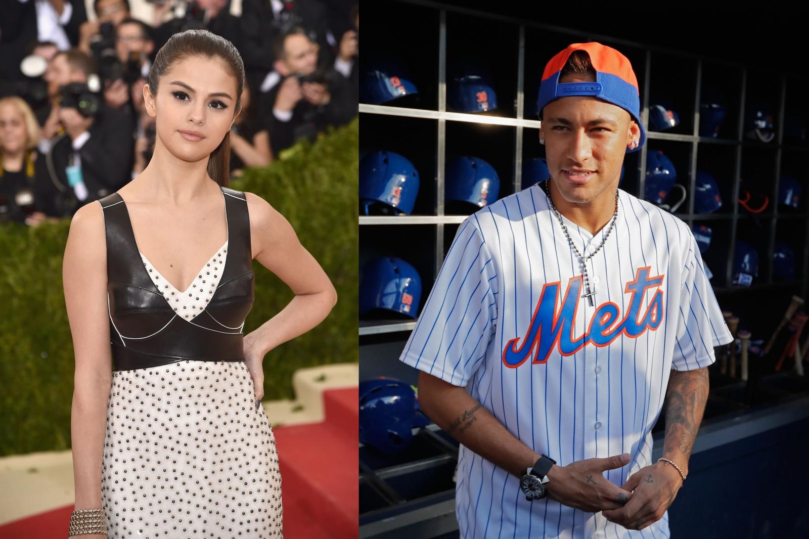Selena Gomez and Neymar