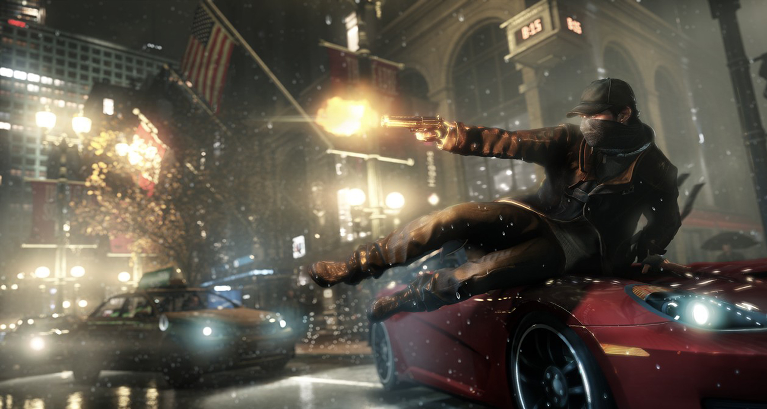 Watch Dogs E3 Debut Announcement