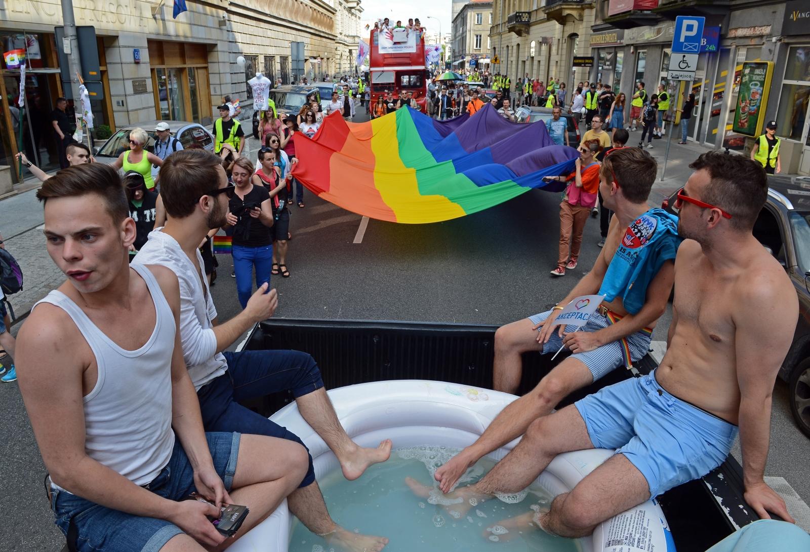 LGBT pride Warsaw