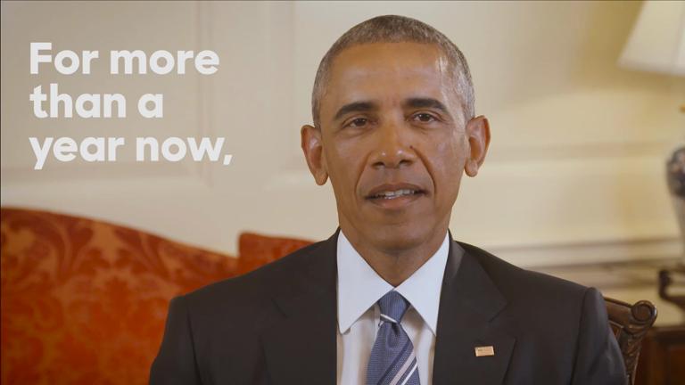 Barack Obama officially endorses Hillary Clinton as Democrat nominee