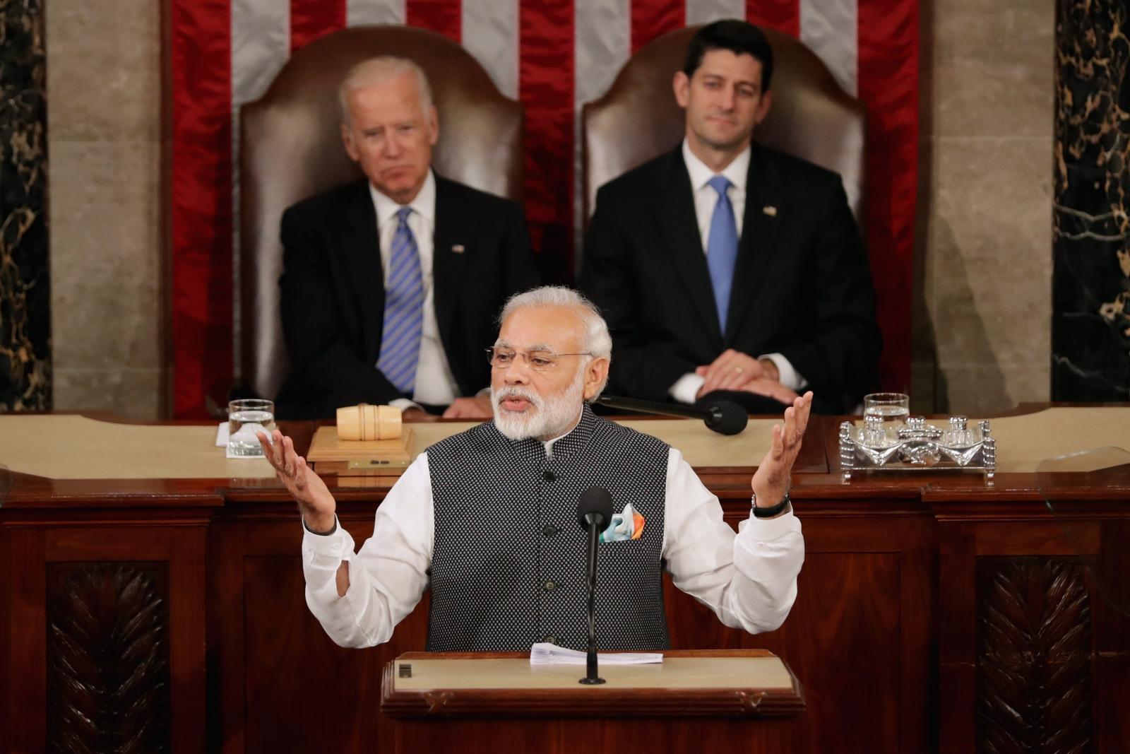 Modi in Congress