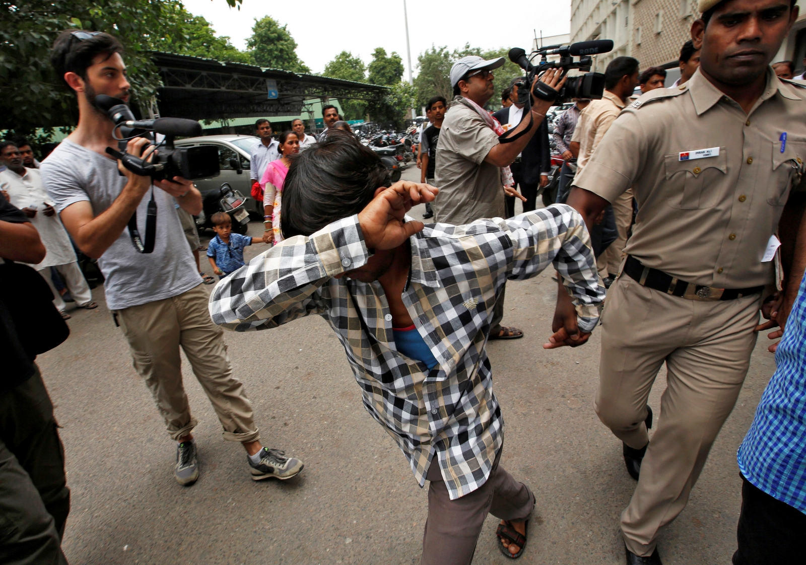 India Danish woman gang-rape verdict