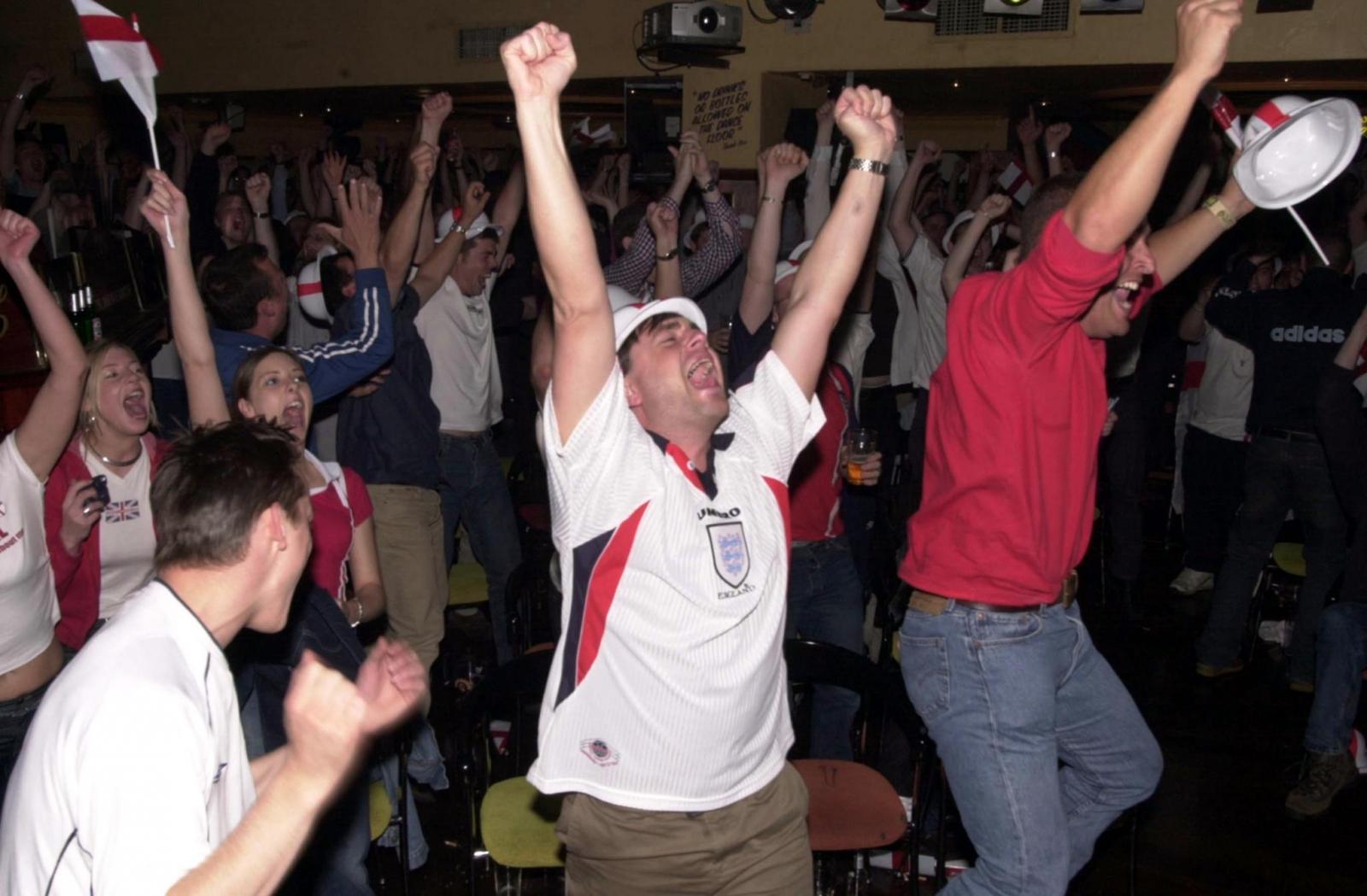 England football 2002