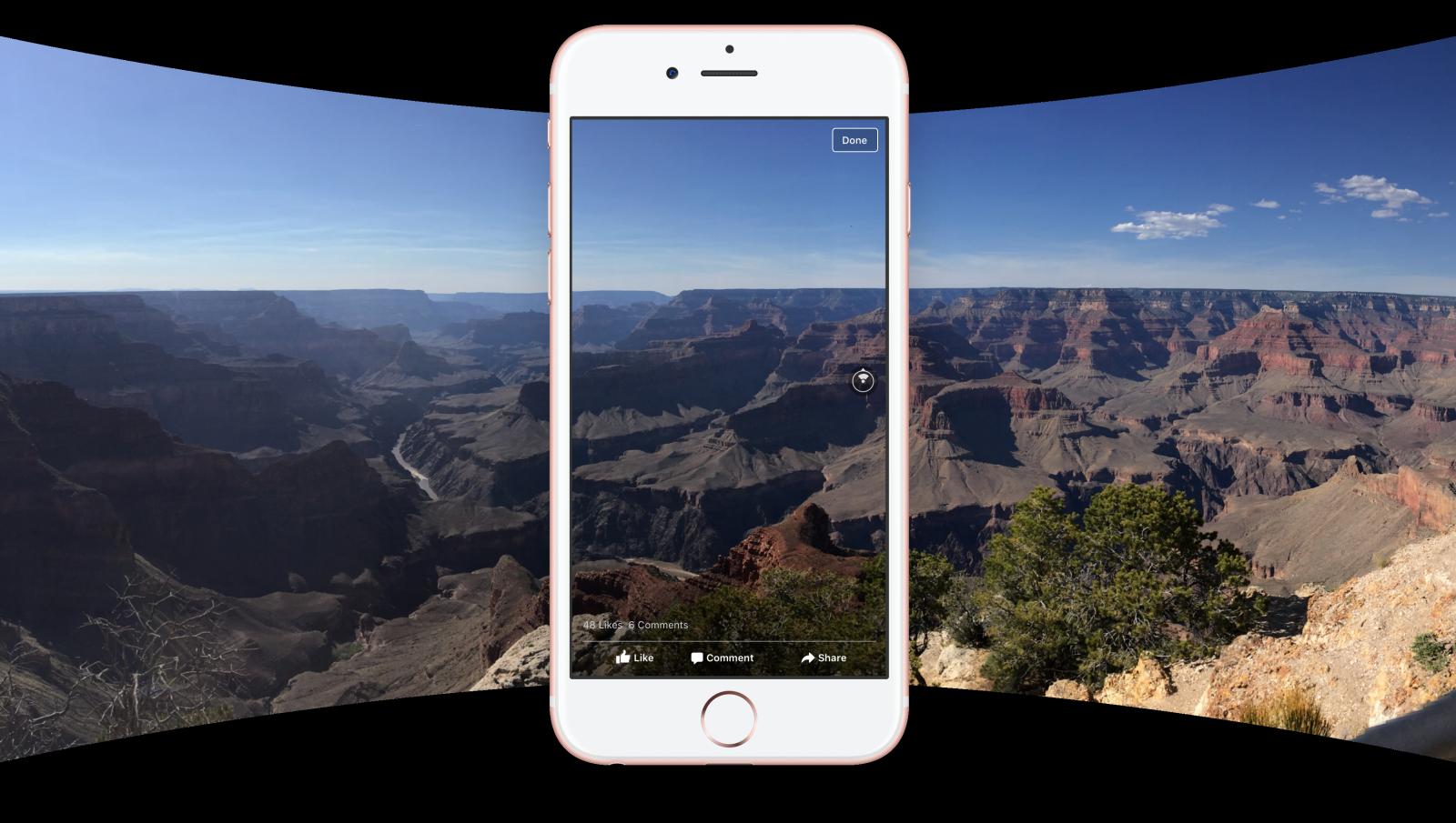 Facebook introduces 360 Photos