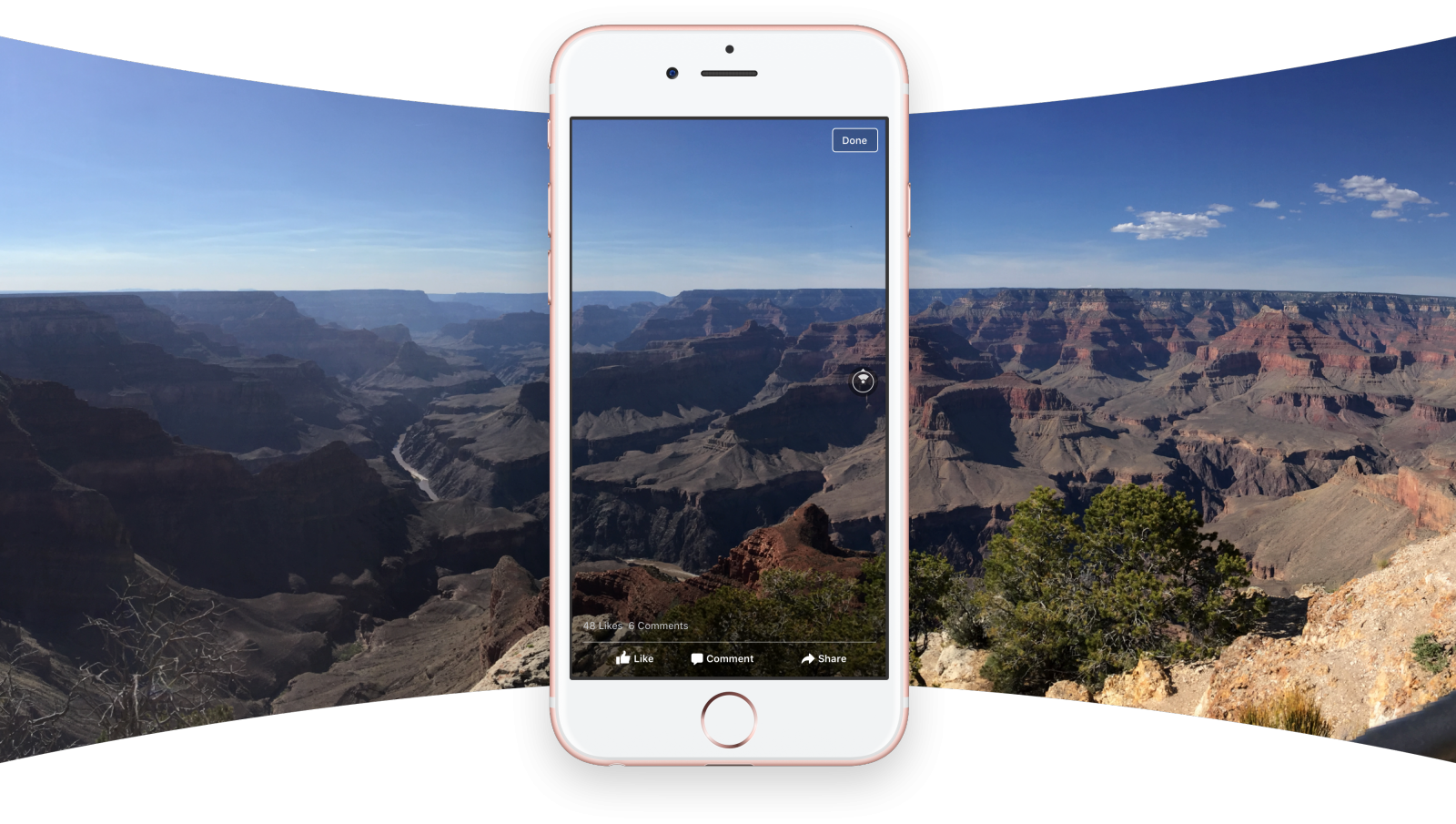 Facebook introduces 360 Photos
