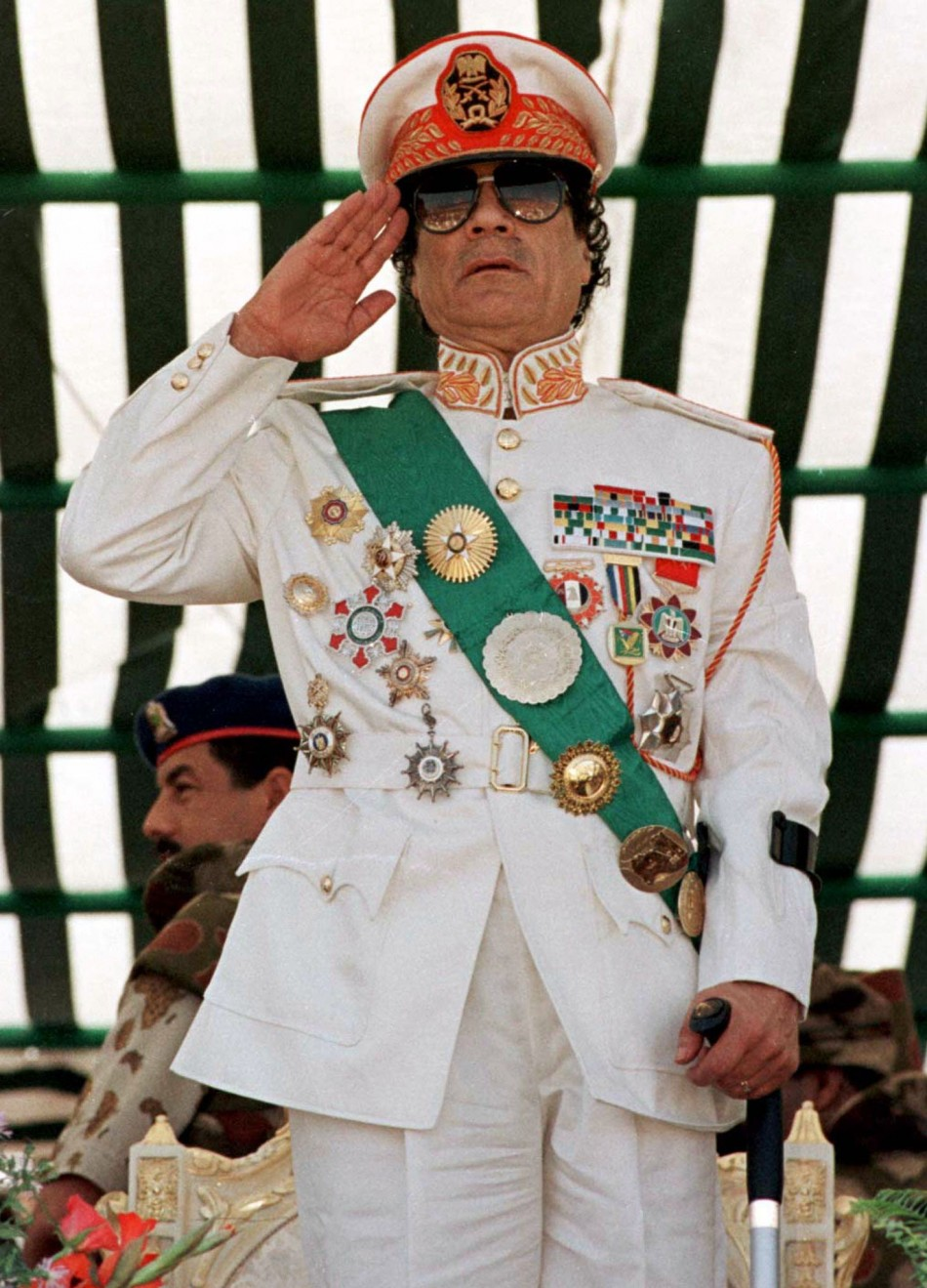 Gaddafi and Lady Gaga