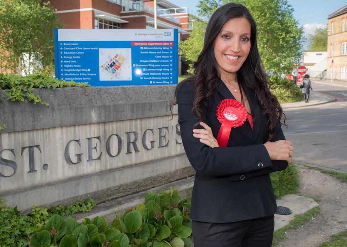 Rosena Allin-Khan, Labour candidate