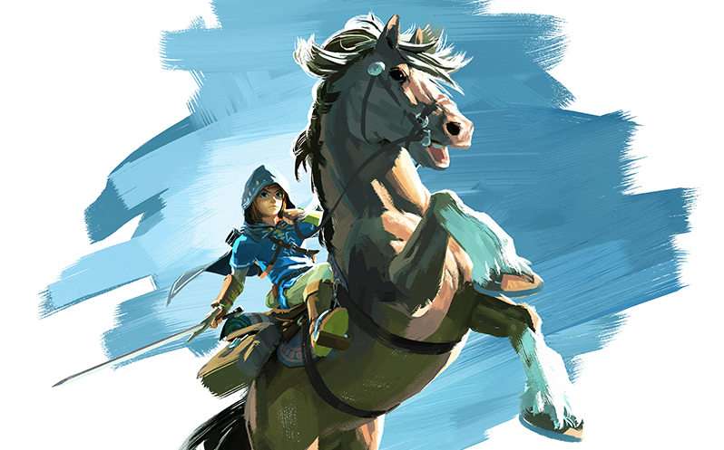 Legend of Zelda Wii U NX art