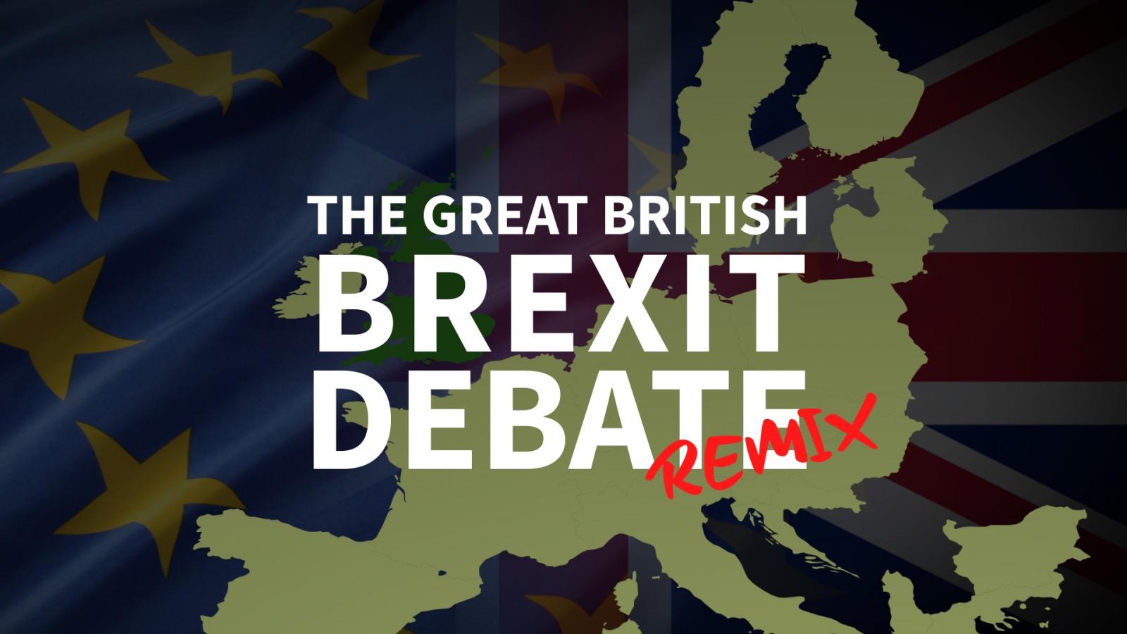 EU referendum remixed: A video mashup of the great British Brexit debate