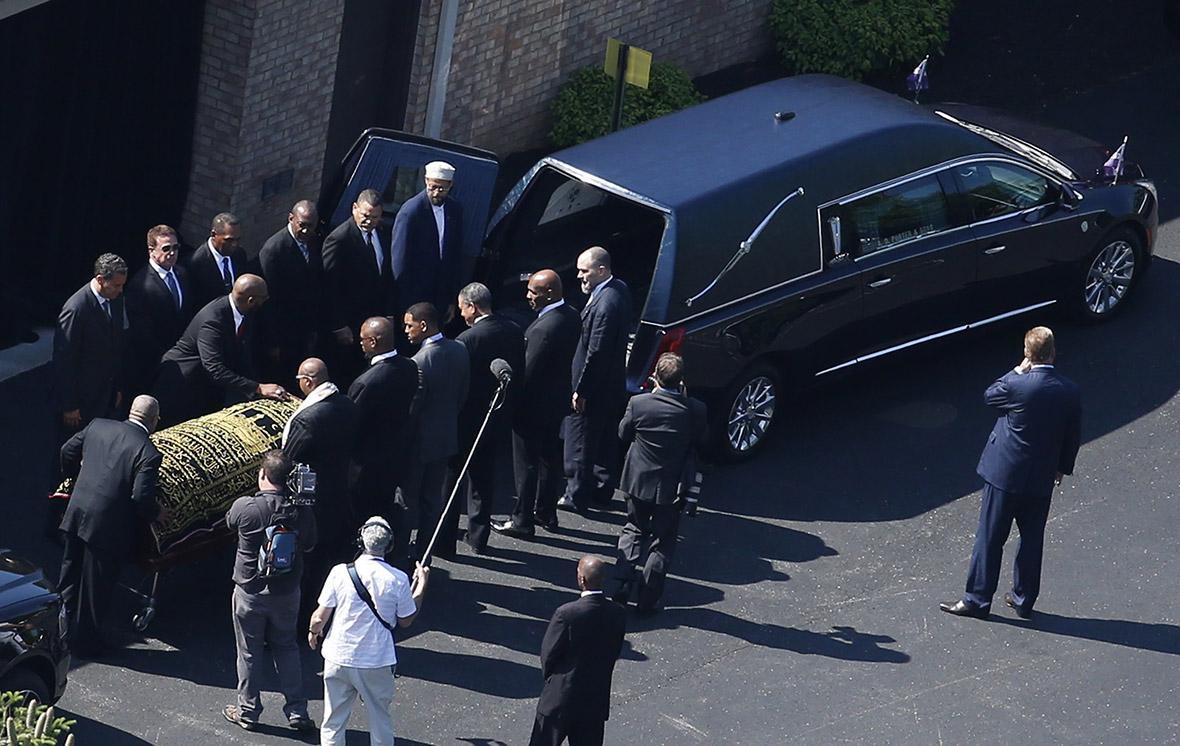 Muhammad Ali funeral