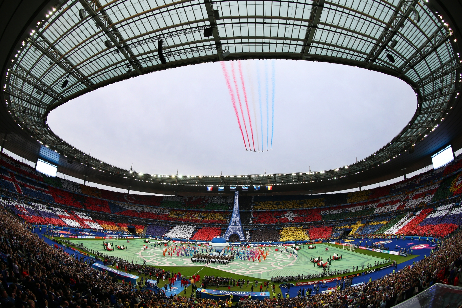 The Stade de France before kick off