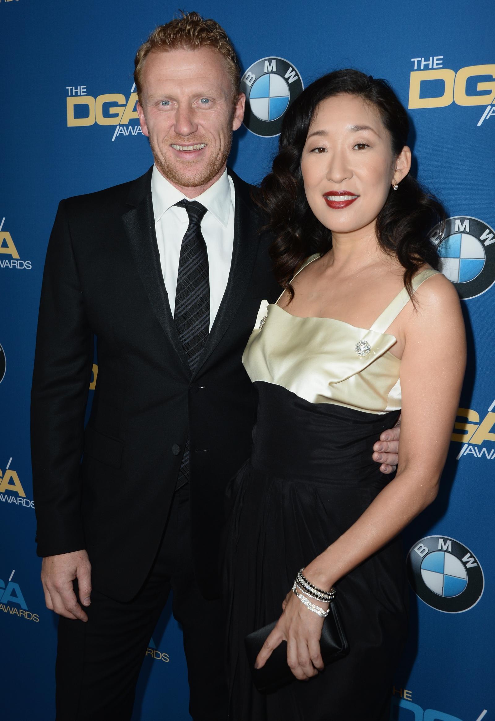 Kevin McKidd and Sandra Oh