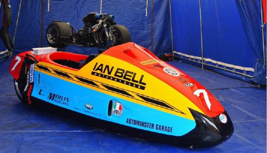 Ian Bell's sidecar