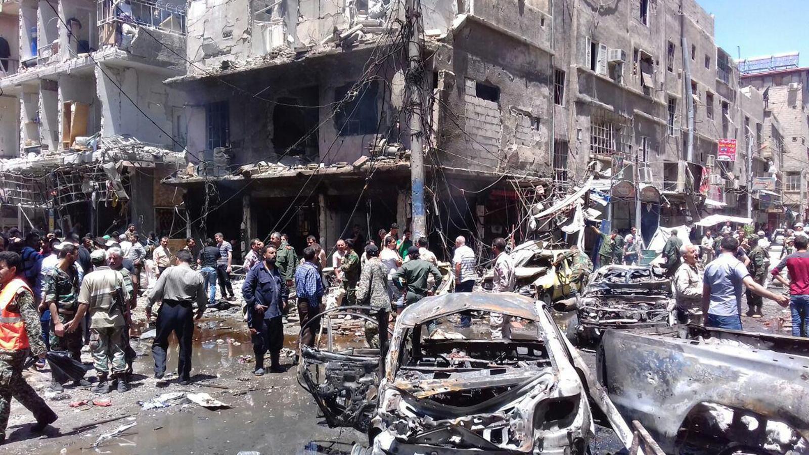 Damascus bombs